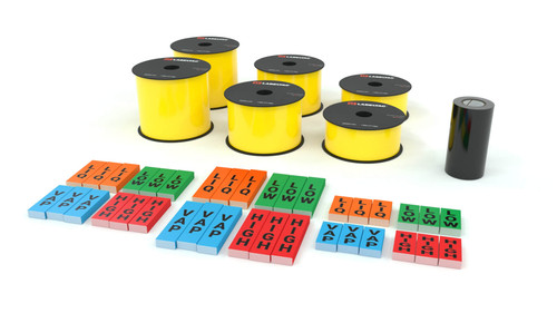 LabelTac® 4 Pro and Pro Model - Yellow Ammonia Pipe Marking Supply Bundle