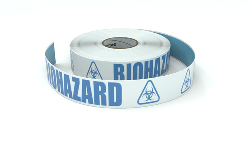 ANSI: Biohazard - Inline Printed Floor Marking Tape