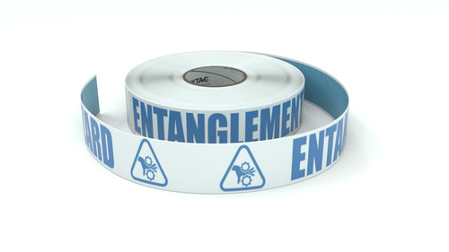 ANSI: Entanglement Hazard - Inline Printed Floor Marking Tape