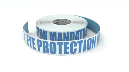 ANSI: Eye Protection Mandatory Beyond This Point - Inline Printed Floor Marking Tape