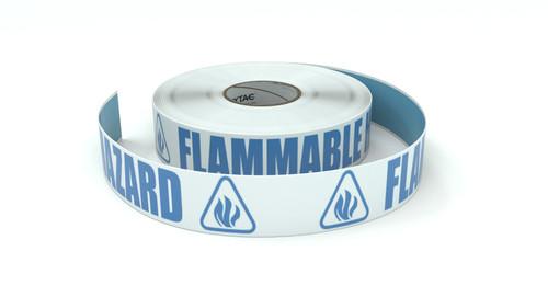 ANSI: Flammable Hazard - Inline Printed Floor Marking Tape