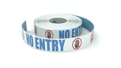 ANSI: No Entry - Inline Printed Floor Marking Tape