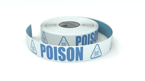 ANSI: Poison - Inline Printed Floor Marking Tape