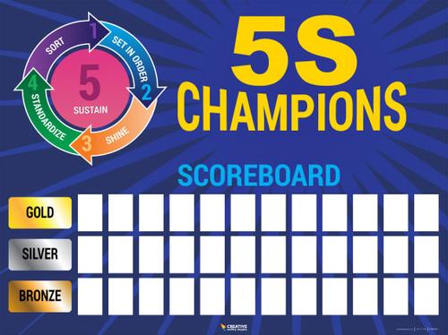 5s Scoreboard 36x48