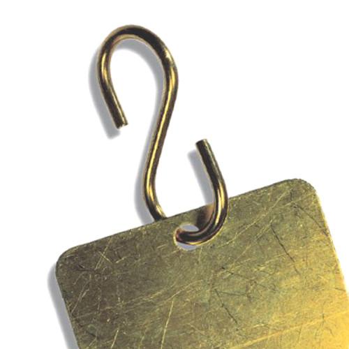"Brass ""S"" Hook Valve Tag Fastener"