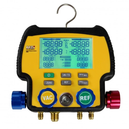 4 VALVE REFRIGERATION ANALYZER