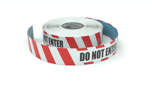 Restricted Area: Do Not Enter - Inline Printed Floor Marking Tape