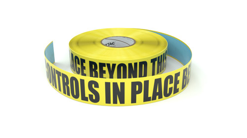 ESD: ESD Controls in Place Beyond This Point - Inline Printed Floor Marking Tape