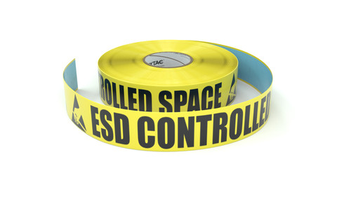 ESD: ESD Controlled Space - Inline Printed Floor Marking Tape