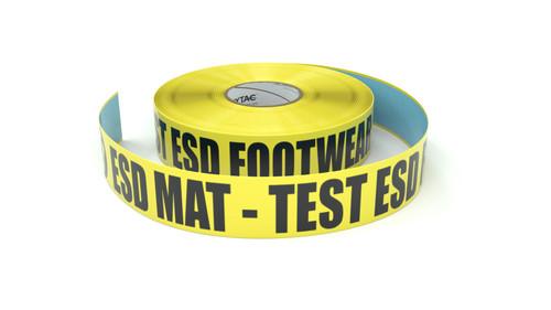ESD: ESD Mat - Test ESD Footwear - Inline Printed Floor Marking Tape