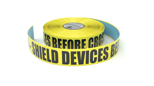 ESD: EPA - Shield Devices Before Crossing - Inline Printed Floor Marking Tape