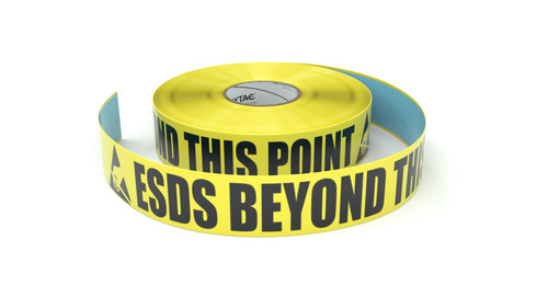 ESD: ESDS Beyond This Point - Inline Printed Floor Marking Tape