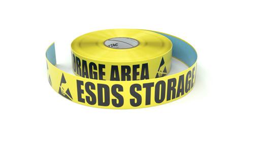 ESD: ESDS Storage Area - Inline Printed Floor Marking Tape