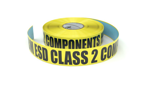 ESD: HBM ESD Class 2 Components Here - Inline Printed Floor Marking Tape