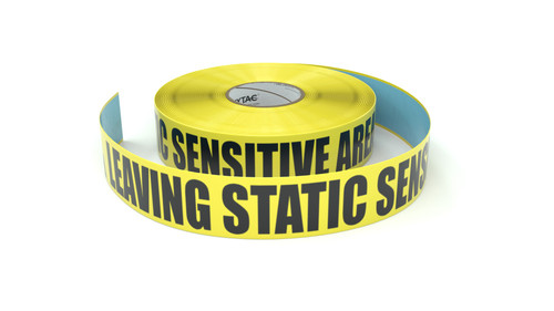 ESD: Leaving Static Sensative Area - Inline Printed Floor Marking Tape