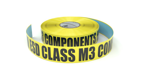 ESD: MM ESD Class M3 Components Here - Inline Printed Floor Marking Tape