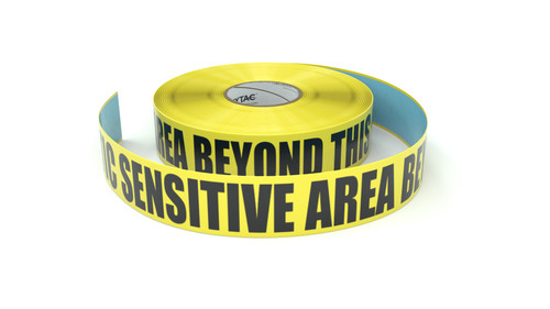 ESD: Static Sensitive Area Beyond This Point - Inline Printed Floor Marking Tape