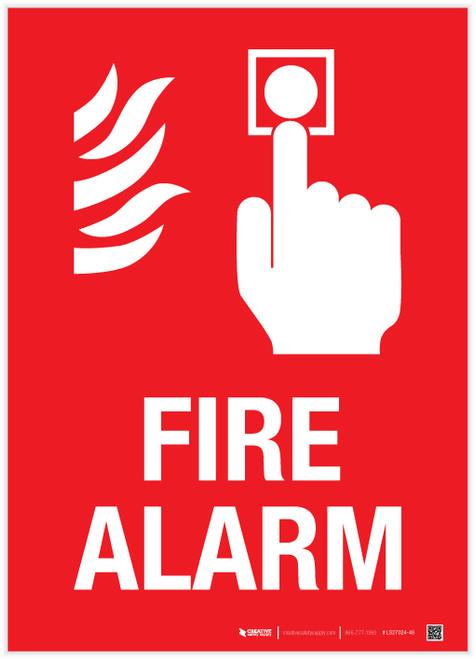Fire Alarm - Label