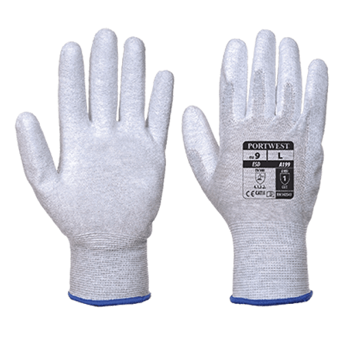 Portwest A199 Antistatic PU Palm Glove