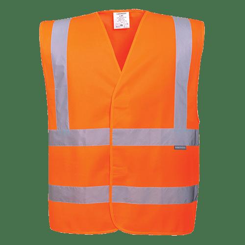 Hi-Vis Band and Brace Vest, Orange