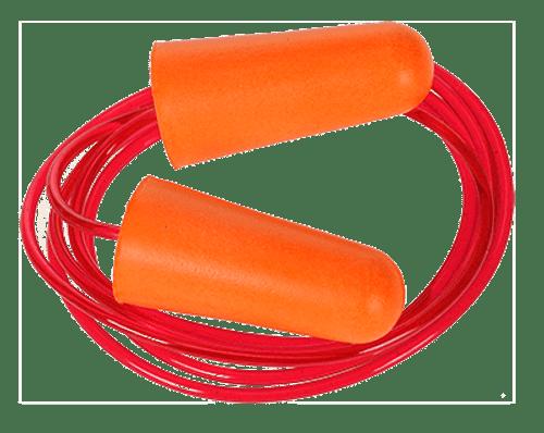 Portwest EP08 Corded PU Foam Ear Plug (200 pairs)