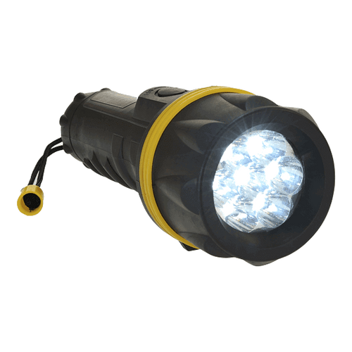 Portwest PA60 LED Rubber Flashlight