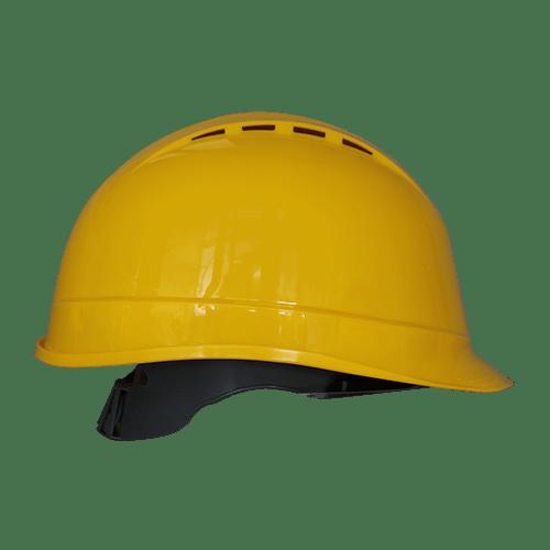 PW Arrow Safety Helmet, Yellow