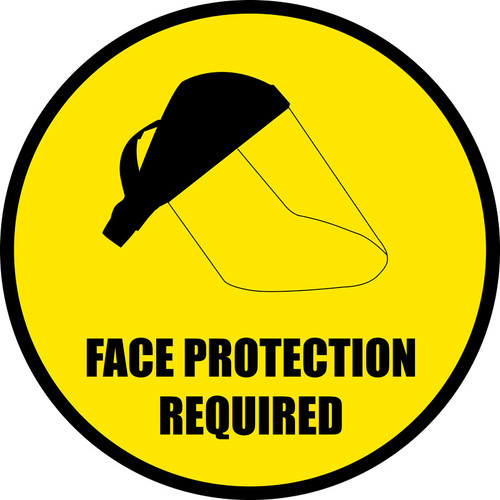 Face Protection Required
