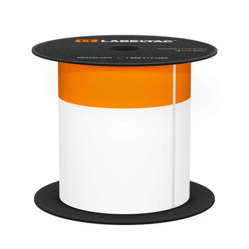 "LabelTac 4 and Pro Model Die-Cut ""Orange Header"" OSHA Roll"