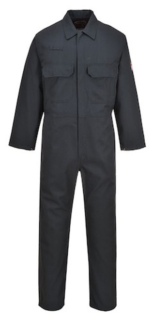 Portwest BIZ1 Flame Resistant Coverall - Bottle Green