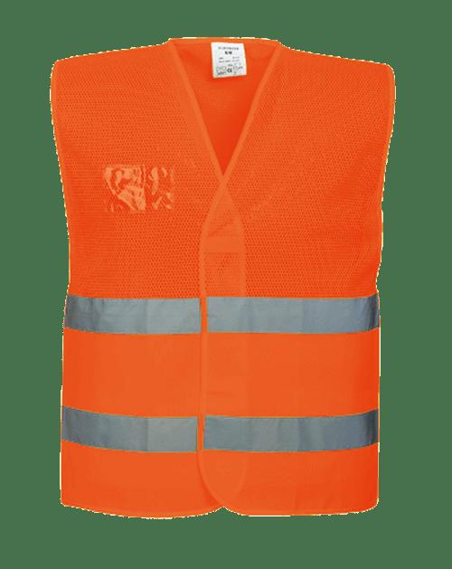 Hi-Vis Mesh Vest, Orange