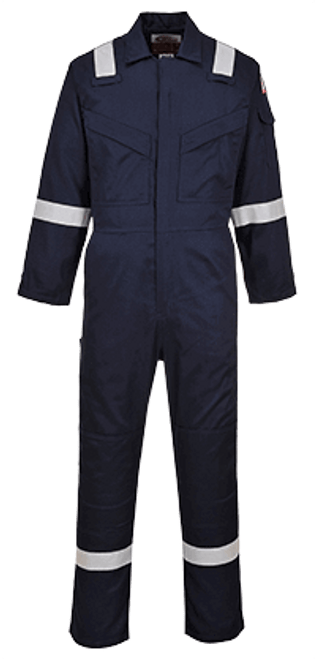 FR Antistatic Coverall, Navy