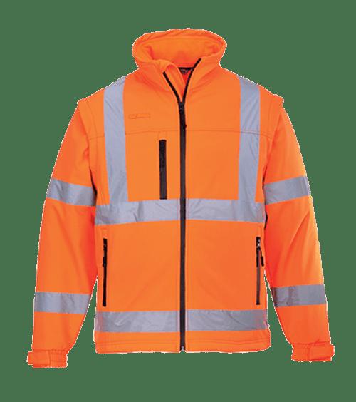 Hi-Vis Softshell Jacket, Orange
