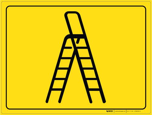 Ladder Parking - Floor Marking Sign