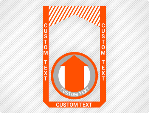 Create Custom Floor Sign Bundle