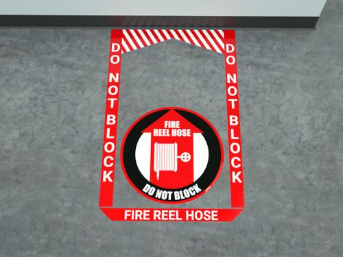 Fire Reel Hose - Pre Made Floor Sign Bundle