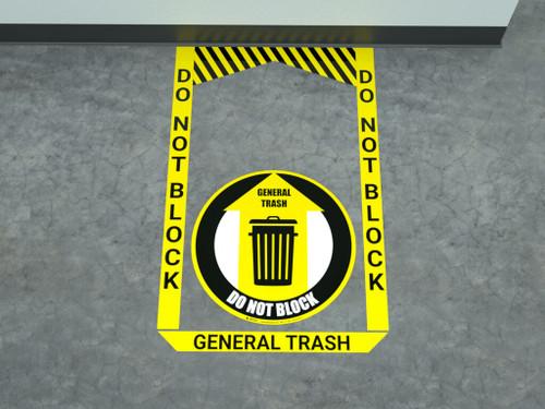 General Trash - Pre Made Floor Sign Bundle