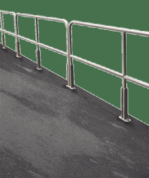 Cotterman Bolt-on Aluminum Railings