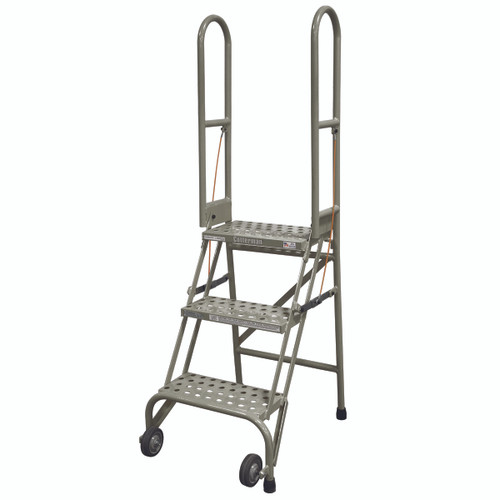 Cotterman Stock n Store - Industrial Rolling Ladder