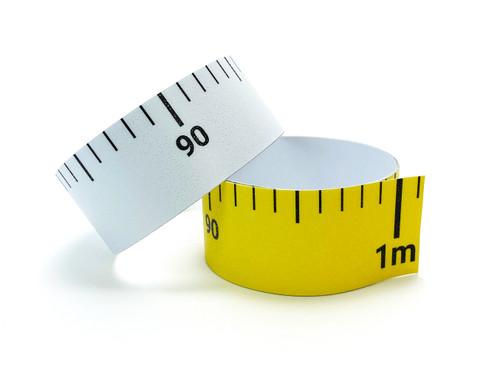 Industrial Adhesive Metric Rulers - Floor Marking Sign