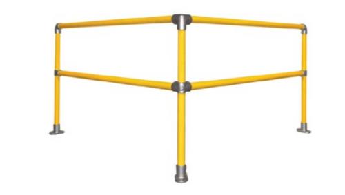 OSHA Hand Rail 6ft x 6ft 90 Degree Corner Kit