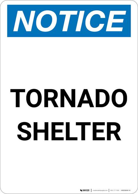 Notice: Tsunami Hazard Zone - Go To High Ground or Inland Portrait