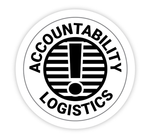 Accountability Logistics - Hard Hat Sticker