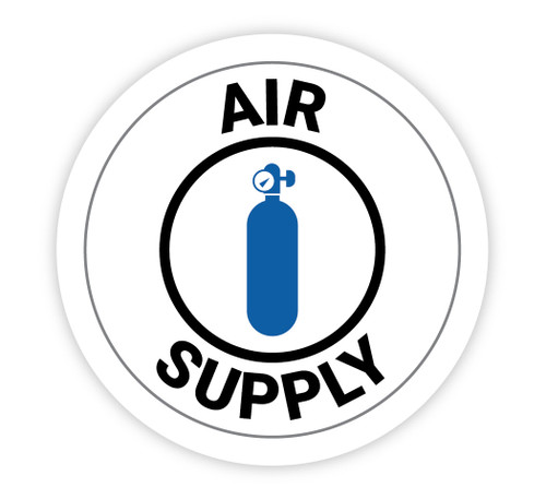 Air Supply - Hard Hat Sticker
