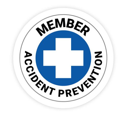 Accident Prevention Member - Hard Hat Sticker