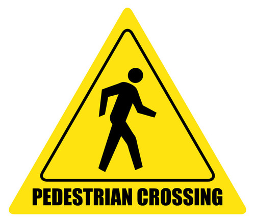 Pedestrian Crossing and Customizable Sign