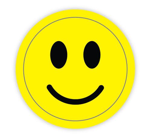 Smily Symbol - Hard Hat Sticker