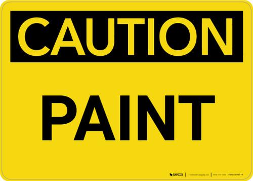 Caution: Paint Landscape