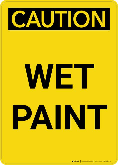 Caution: Wet Paint Portrait