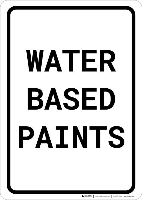 Water Based Paints Portrait